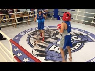 г.Бокс 🔴Ильджинов Алдар(Калмыкия) vs Плотников Роман(Волгоград)