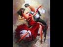 Танго Страстью Исполненный Танец Танец Страсти Желаний Любви