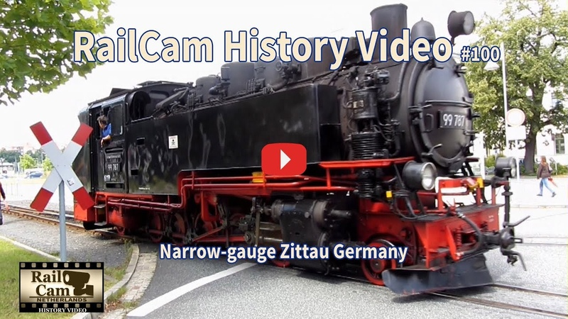 RailCam History Video 100 Narrow gauge Zittau Germany