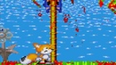 Sonic.exe: Nightmare Beginning Tails Hill Act1 Tails is dead from Sonic.exe jumpscare above the tree
