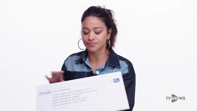 Звезда сериала Девственница Джейн (Джина Родригес) отвечает на популярные вопросы в интернете.