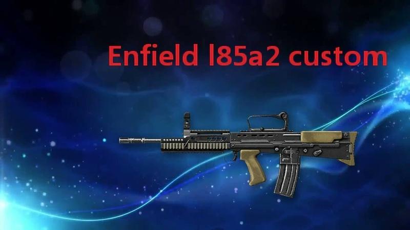 Макрос на энфилд Enfield L85A2 Custom Warface