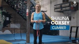 Shauna Coxsey's warm-up routine: Workout Wednesday