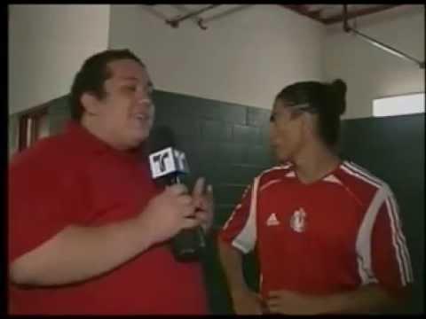 Paco palencia se enoja con el trevistador 2006