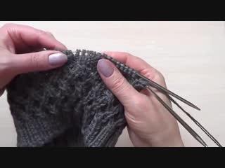 Как связать шапку  для мальчика спицами Вязание для детей.