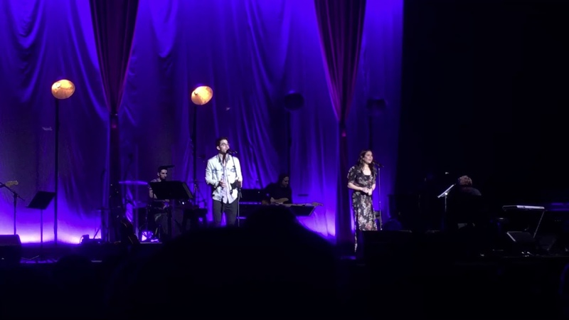 Darren Criss and Lea Michele- Suddenly Seymour (LMDC Tour Manchester)