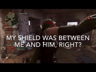 Short story about lag compensation in this game. cod wwii