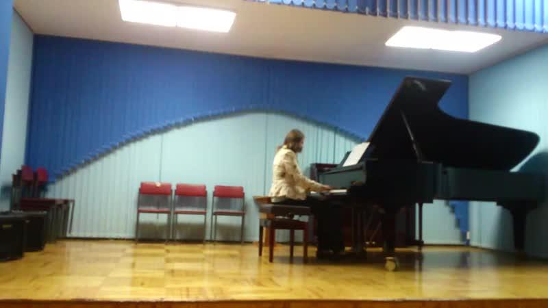 Новый шедевр нашего композитора Светланы Головиной, исп. Чередова Е. А.