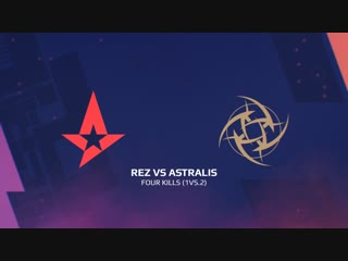 Highlights: rez vs astralis | blast pro series: lisbon 2018