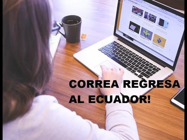 Ministra Todóloga tiene miedo que Correa regrese al Ecuador