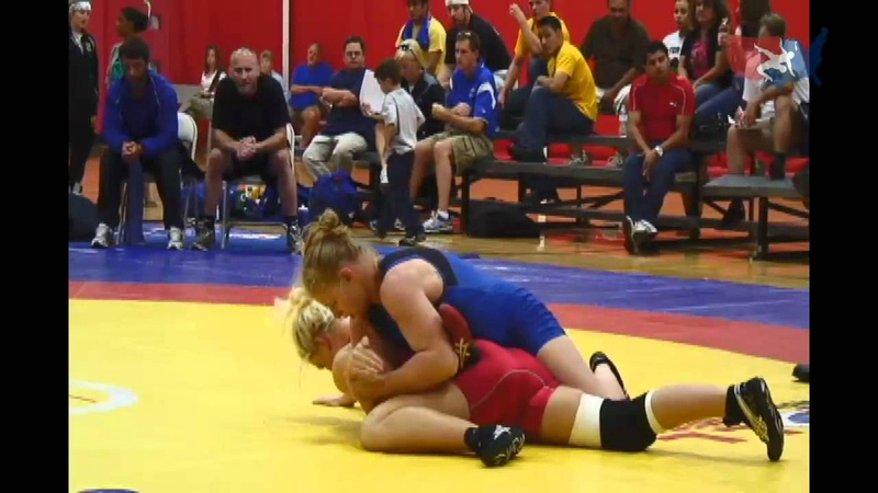 67kg - Erin Clodgo vs. Vanessa Oswalt