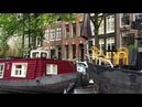 Amsterdam a boat ride in real time 4K