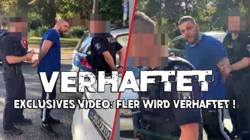 Eilmeldung FLER wird verhaftet 10 Beamte um ihn FLER verarscht BUSHIDO während Verhaftung