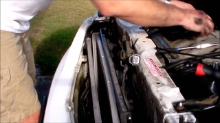 2001 Mazda MPV radiator cooling fan replacement