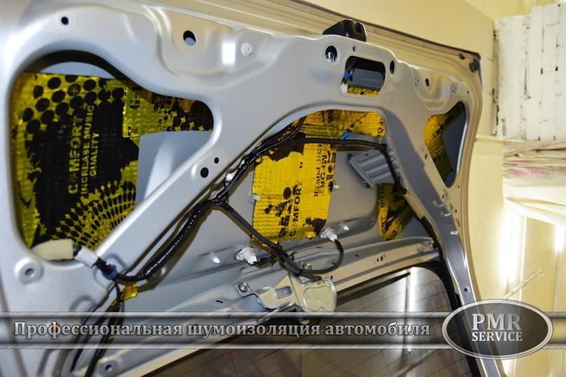 Шумоизоляция Honda CRV, изображение №16
