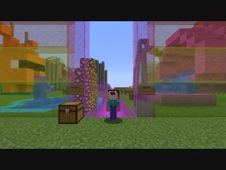 НУБ ПОСТРОИЛ ВОДНУЮ ГОРКУ В Майнкрафте! Minecraft Мультики Майнкрафт троллинг Нуб и Про