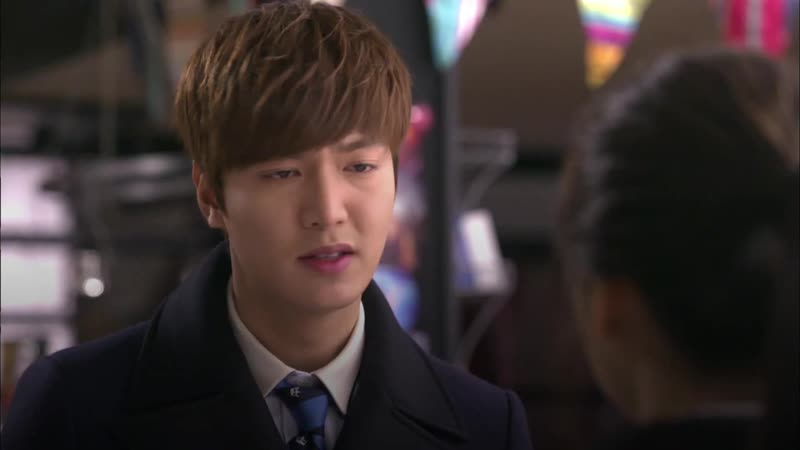 Легендарная драма Наследники Ep. 16, 17 Поцелуй Ын Сан Ли Мин Хо cr. SBS NOW