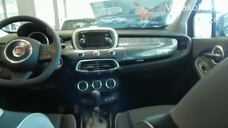 Fiat 500X Pop Star 1.4 140 л.с. 6АТ итальянский малыш на стероидах интерьер экстерьер