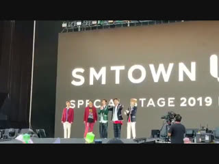 fancam 190119 Ment @ SMTOWN in Chile D-1