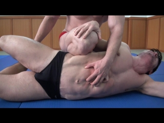[720]  muscle domination wrestling - stefan ramos vs steel muscle god