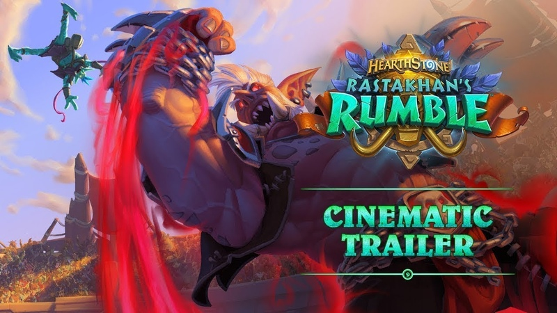 Rastakhan's Rumble Cinematic Trailer Hearthstone Blizzcon 2018 Reveal