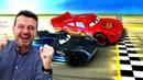 ¿Quién ganará Rayo McQueen o el Storm Vídeo con juguetes de dibujos animados