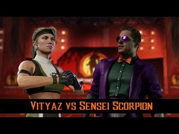 XRO Gaming FT10 Vityaz(Sonya) vs SenseiScorpion(Johhny Cage)