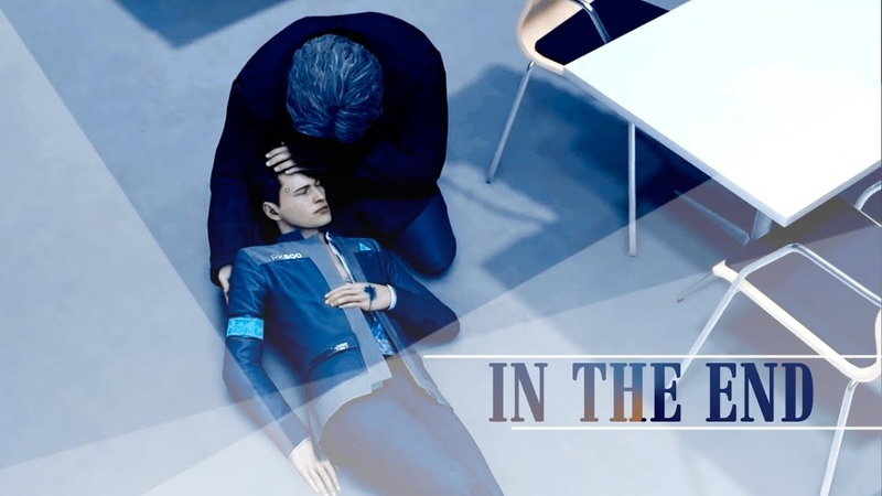 In the end | connor hank | detroit: become human