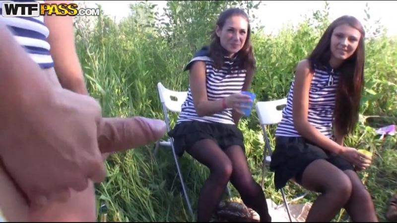 День ВМФ по русски. fuck party in fresh air Russian Porn русское порно,