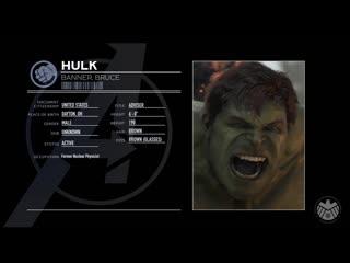 Marvel`s avengers профиль халка