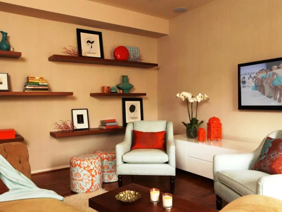 фотографии плато что поставить на полки в гостиной фото зале свет