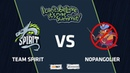 Team Spirit vs NoPangolier Game 1 Playoff I Can't Believe It's Not Summit