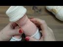 Amigurumi Zeynep bebek 2 bölüm bacak ve popo yapılışı