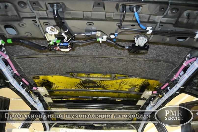 Шумоизоляция Lexus LX, изображение №6