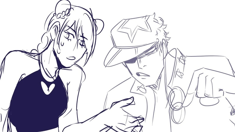 One time jolyne was allowed to cuss