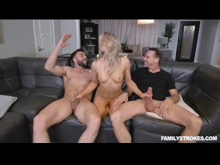Kate Kennedy - Not Quite Uncle Orgy [TeamSkeet. Teen, Incest, blowjob, Threesome]