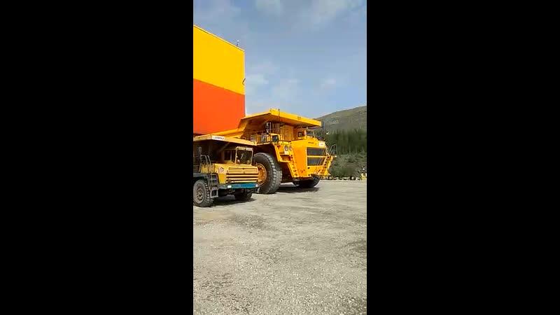БелАЗ 240 тонн первый выезд