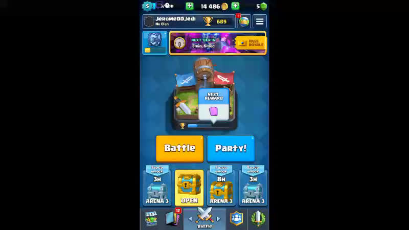 Clash Royale - how many times can I win!?