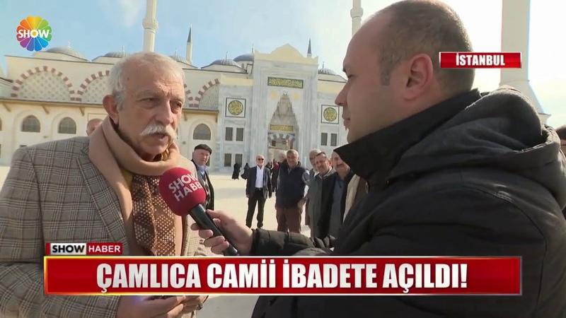 Çamlıca Camii ibadete açıldı!