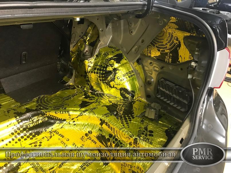 Шумоизоляция Toyota Corolla, изображение №16