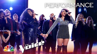 "The Voice 2018 Kyla Jade and Jennifer Hudson - Finale: ""I Know Where I've Been"""