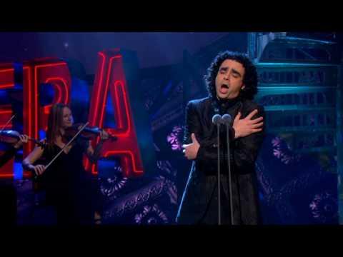 Rolando Villazon performs L'alba separa dalla luce l'ombra on ITV's Popstar to Operastar