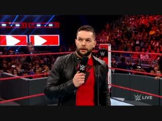 — Финн Балор и Бобби Лэшли (RAW от 29.01.19)