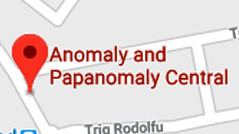 GOING TO THE ANOMALY PAPANOMALY CENTRAL