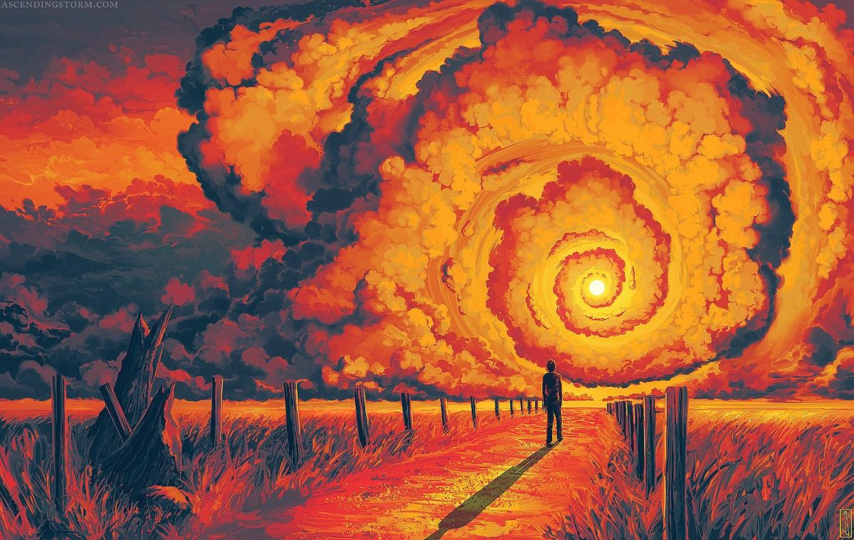 Потрясающий арт за авторством художника Jeffrey Smith, скрывающегося под псевдонимом Ascending Storm.