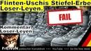 Loser Leyen Flinten Uschis Stiefel Erbe * Katastrophen Trio