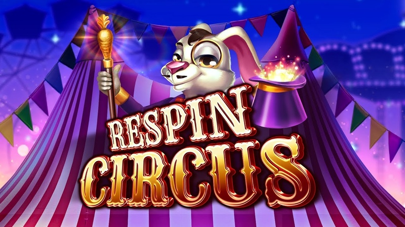 Respin Circus Online slot by ELK Studios