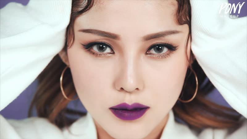 2016-12-02 - Instagram Makeup - Purple Lip Makeup (With subs) 인스타 메이크업 - 퍼플 립 메이크업
