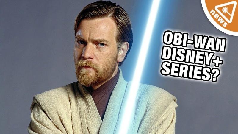 Ewan McGregor is Back as Obi-Wan Kenobi for a Disney Series! (Nerdist News w Maude Garrett)