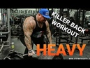 HAVING the right MINDSET when going for a BIG PR HEAVY DEADLIFTING AND T BAR ROWS